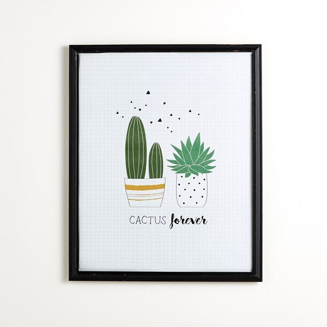 17 best ideas about dessin cactus on pinterest lettering - Affiche murale decorative ...