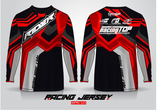 Download Freepik Graphic Resources For Everyone Sports Jersey Design Jersey Design Moto Shirts