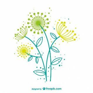 Embroidery Pattern from Vector artístico de diente de león at Freepik.com. jwt