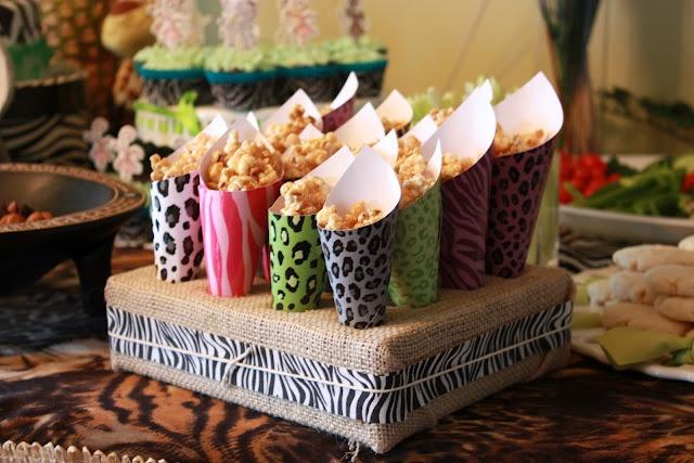 Maple caramel popcorn.