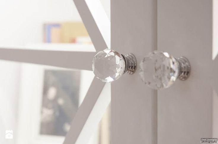 Biblioteka indywidualnego projektu wykonana na zamówienie - zdjęcie od Atelier Architektury Magdalena Potok - Salon - Styl Glamour - Atelier Architektury Magdalena Potok