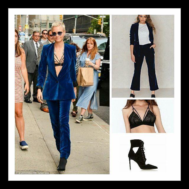 Crushing on #CaraDelevingne's #velvet suit? Head to ithestylist.co.uk for @ihunnamatata's wallet friendly version featuring @nakdfashion @shoptiques @dune_london . . . . . . . . . . #nakd #shoptiques #dunelondon #velvet #suit #ootd #outfitoftheday ##ootd #lookbook #fashion #stylediaries #trends #trending #trendalert #ss17 #fashion #fashionblog #blog #blogger #ontheblog #blogpost #style #styleblog #styleblogger