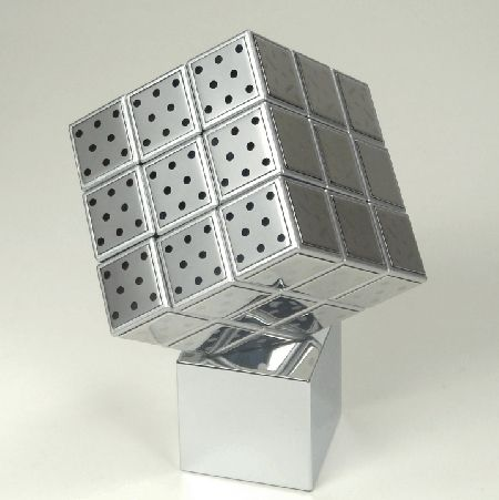 Stainless Steel Rubik's Cube, 29.99 Toy boxes, Steel