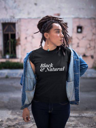 Natural Hair Tee Shirt, Black & Natural Women's T-Shirt   eBay