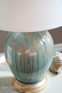 Five Ugly Ducks and How to create a ceramic drip lamp. -