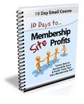 """""""10 Days To Membership Profit""""  Course Package?"""