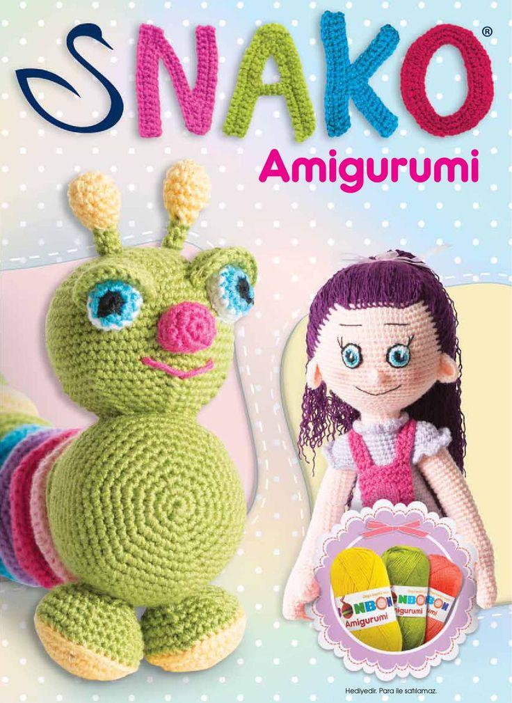 Nako Amigurumi TR  Nako amigurumi broşürü. Türkçe