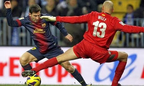 The Legend Lionel Messi: Messi celebrates fourth Ballon d'Or and his fantastic goal against Getafe