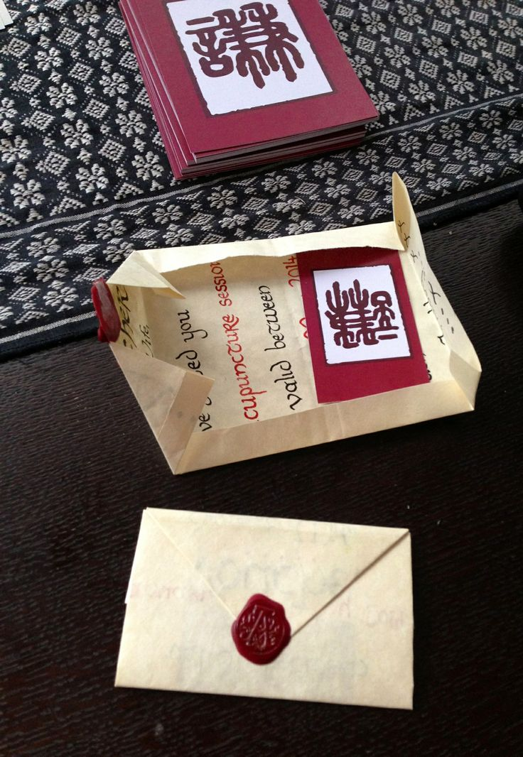 My hand crafted gift vouchers https://www.facebook.com/AnadasChineseMedicineClinic