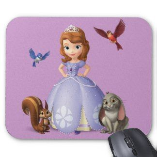 Sofia and Her Animal Friends Mouse Pads