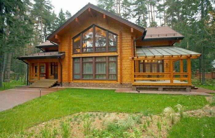 Дом деревянный большой - Стройка-Киев, СПД Киев (Украина) - купить, цена, фото