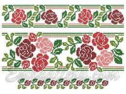 Znalezione obrazy dla zapytania rose embroidery pattern