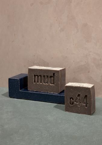 Mud Soap - this mineral rich, exfoliating soap is made with Dead Sea Mud, ground loofah and scented with fresh, earthy herbs