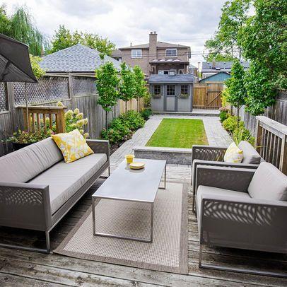 Best 25+ Narrow backyard ideas ideas on Pinterest | Small backyard ...