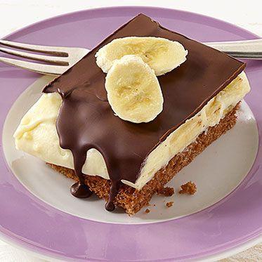 Bananencremeschnitten Rezept | Küchengötter