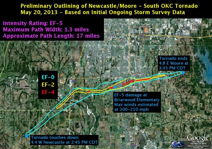Deadly Moore Tornado Tops the Scale at EF5 Oklahoma