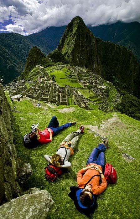 Machu Pichu, Peru-- l'affaire que je n'ai pas vu parce que j'étais trop oqp dans un hôpital à me faire soigné !