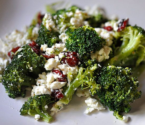 Ingredients: 1 1/2 cups Broccoli 1/4 cup Feta Cheese 1/4 cup Dried Cranberries 1/2 tbsp Fresh Lemon Juice 1 tbsp Sesame  Seeds 1/2 tbsp Extra Virgin Olive Oil ___________________________ Instructions: Steam broccoli for about 5-6 minutes until it's tender and then mix with all the rest of the ingredients in a bowl. Serve warm. …