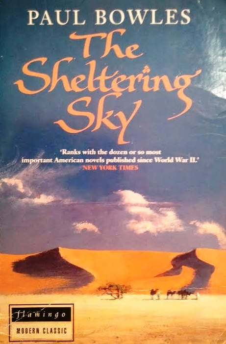 Image result for the sheltering sky book