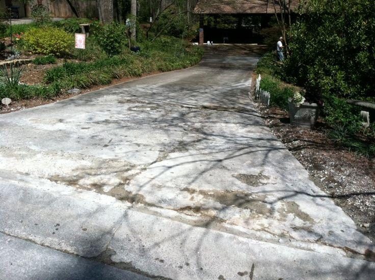 Ideal Home Repair provides driveway resurfacing, driveway repair, and concrete repair services to Atlanta and Cobb County, Georgia.