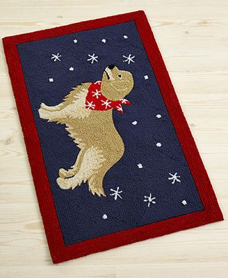 Martha Stewart Collection Holiday Dog 21 X 33 Rug I Love This Living Room Dining Room