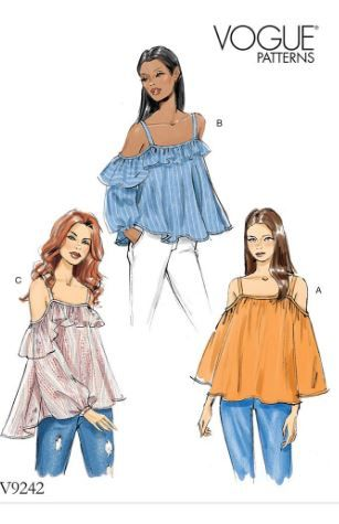 Sew a Bardot Top: Our Favourite Off The Shoulder Sewing Patterns