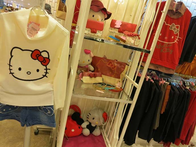 Hello Kitty's Hong Kong fashion collaborations - check out the cute Sanrio photos! Izzue, Kilara, Soho, b + ab and Hello Kitty Forever 21. http://www.lacarmina.com/blog/2012/11/hello-kitty-clothing-collaborations-hong-kong-izzue-store-kilara-japan-forever-21-sanrio-capsule-collection/