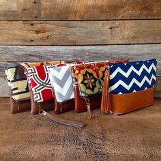 Foldover Clutches #foldoverbag #foldoverclutches