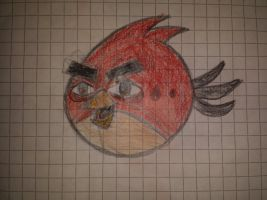 Angry Birds Wind Waker style - Red (Draw version) by Alex-Bird