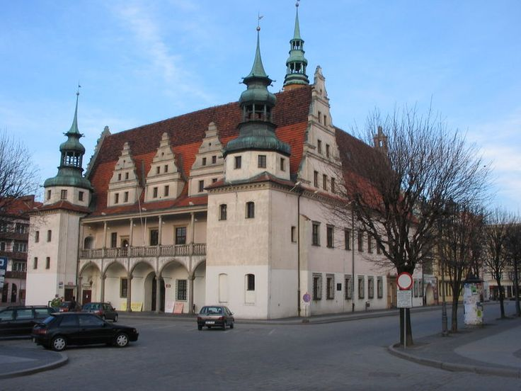 Town hall in Brzeg