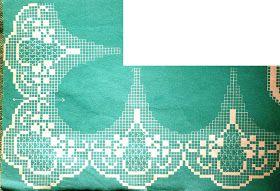 crochet em revista: Pontas recortadas