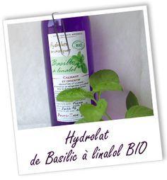 Rhumes des foins (L. Bosson) : 100 ml Hydrolat de Basilic doux à linalol + 100 ml hydrolat de Camomille allemande par voie interne.