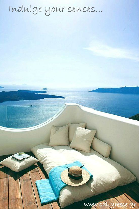 Indulge your senses on the island of Santorini, Greece  www.callgreece.gr