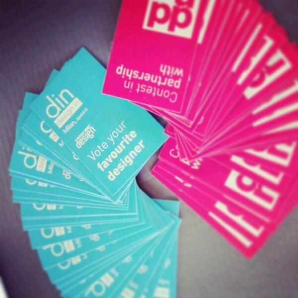 Vote your favorite designer at din! #din2014 #fuorisalone2014 #fuorisalone #milandesignweek #lambrate #lambrate365