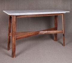 Стол с мраморной столешницей  Кофейные столики