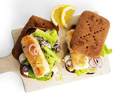 Sandwich al pesce