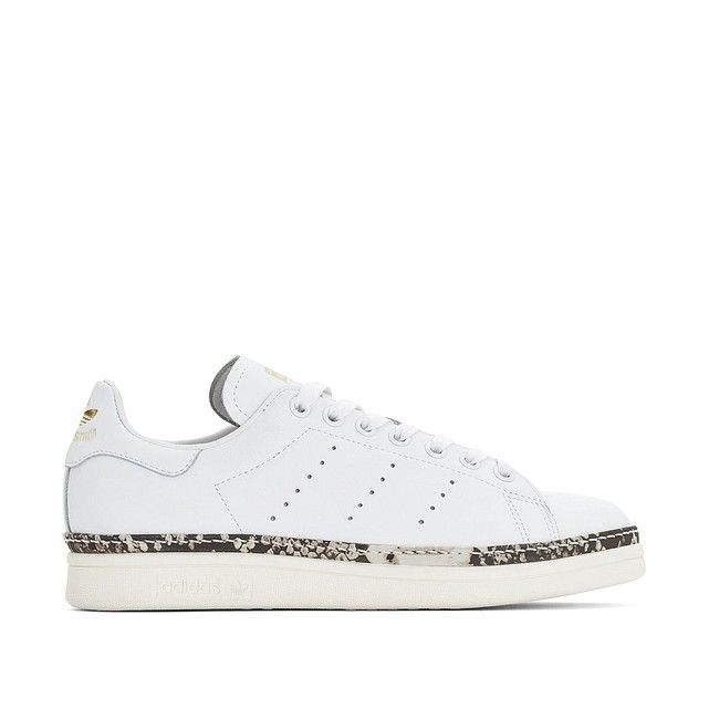 Baskets cuir stan smith new bold blanc Adidas Originals | La