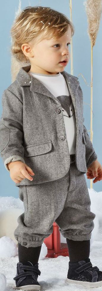 Love this MALVI & CO ISI BABY Boys Grey 3 Piece Shorts Suit