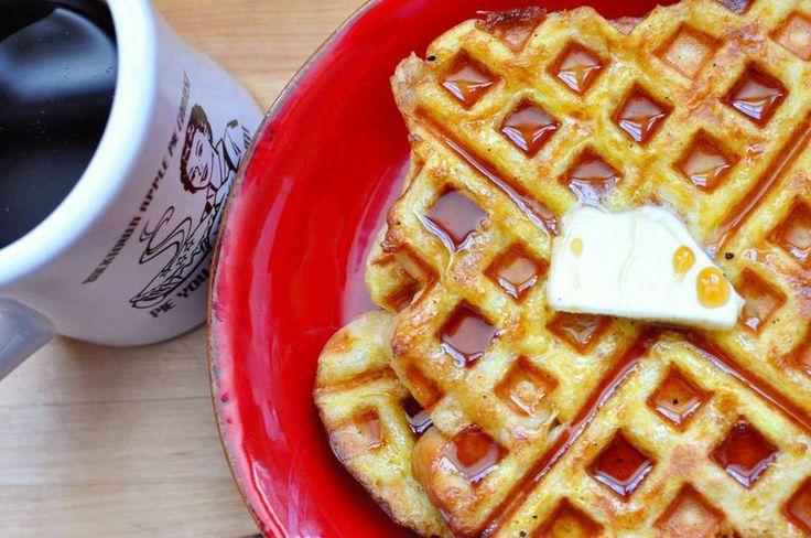 waffle iron french toastBreakfast Brunches, Toast Waffles, Waffles Recipe, Yummy Food, French Toast, Waffles Maker Recipe, Waffles French, Waffles Iron, Waffle Iron