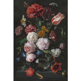 Still Life with Flowers in a Glass Vase, by Jan Davidsz de Heem
