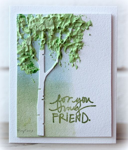 CT0313 Birch by Biggan - Cards and Paper Crafts at Splitcoaststampers