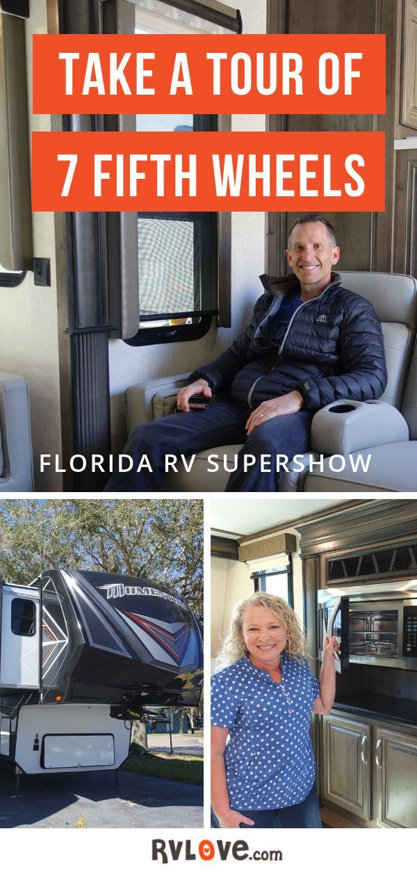 Take A Tour Of 7 Fifth Wheels From Tampa Florida Rv Supershow 2019