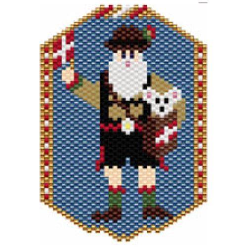 Santas of the World: Switzerland | Bead-Patterns