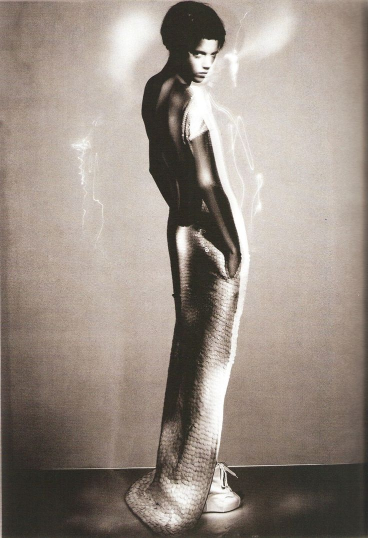Freja Beha Erichsen photographed by Paolo Roversi - Vogue Italia: February 2007 - All That Shine (via: believableillusion)