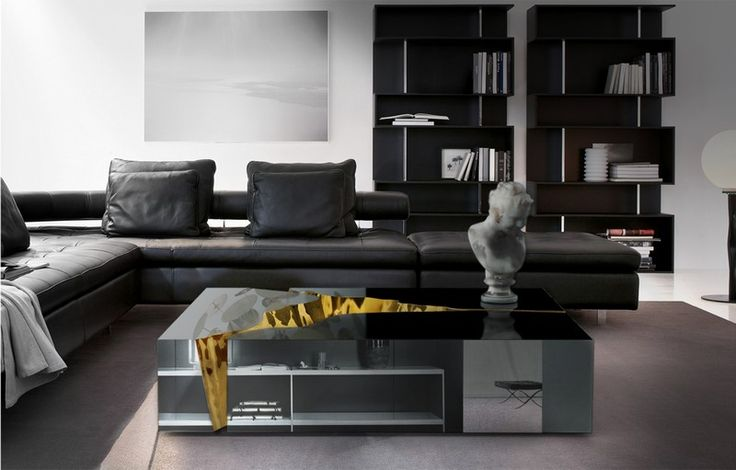 The Amazing Lapiaz Sideboard from Boca do Lobo |  Other piece from the Lapiaz family, the Lapiaz center table | www.bocadolobo.com #bocadolobo #luxuryfurniture #interiordesign #designideas #homedesignideas #homefurnitureideas #furnitureideas #furniture #homefurniture #sideboardideas #sideboarddesigns #sideboards