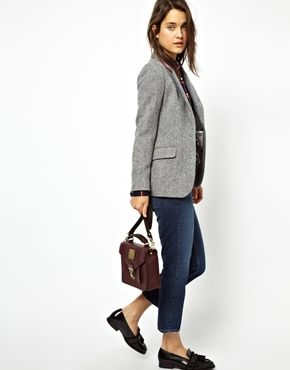 blazer and loafers, jack wills, fashion, style, autumn, spring, jeans, casual
