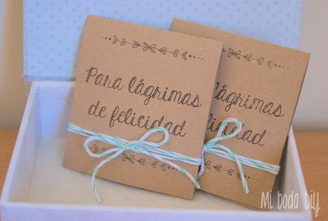 Imprimible para lagrimas de felicidad #boda #wedding #DiY #Printable
