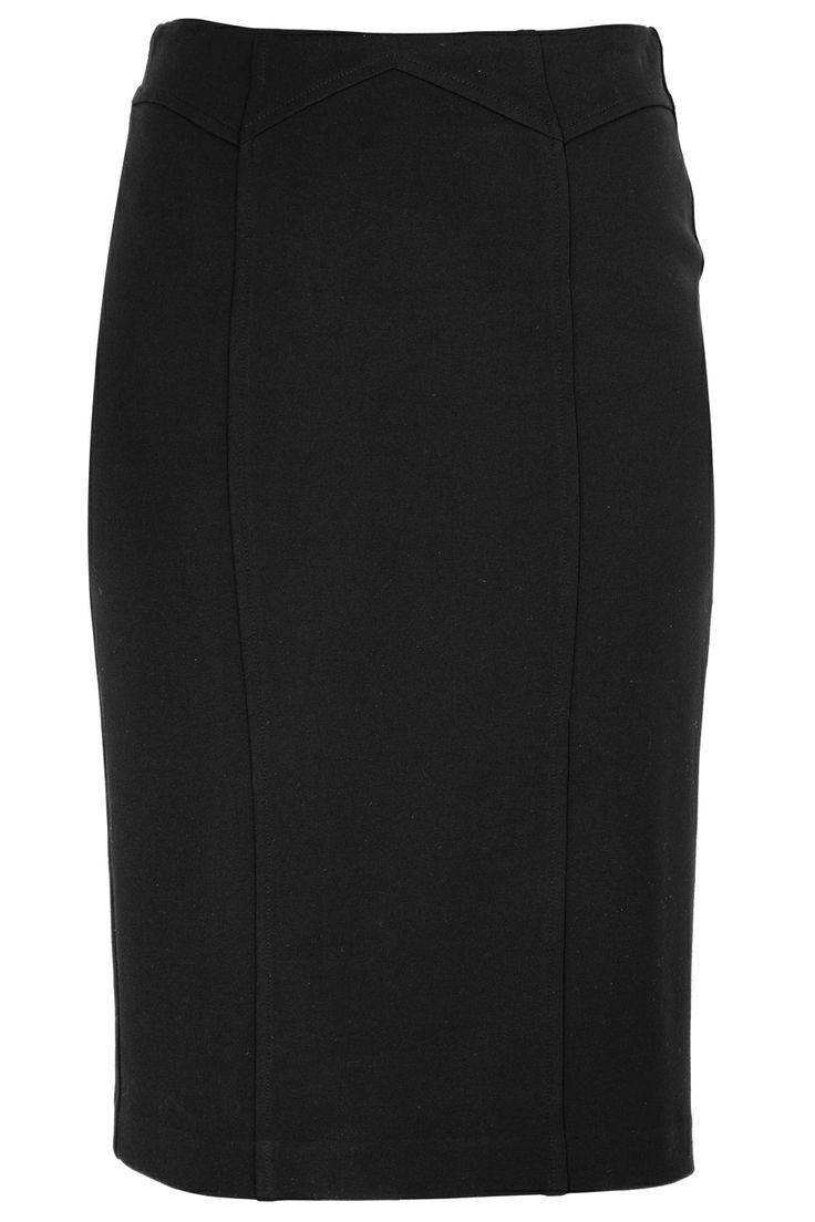 #LOLA  NORA Black Pencil Midi Skirt   Price: € 89.00