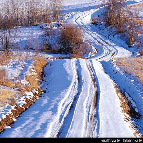 Latvia country nature