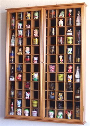 Display case for the shot glasses we collect